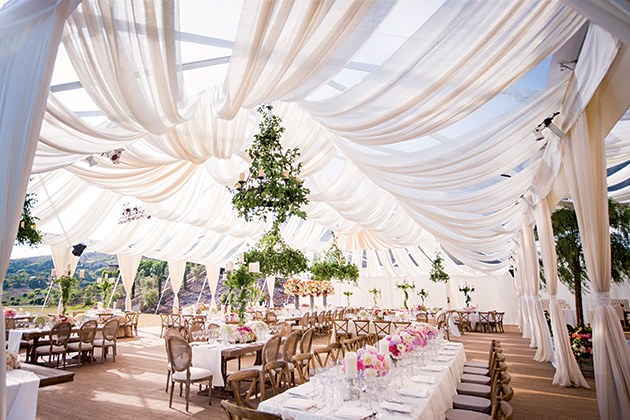 Rainingblossoms Wedding Receptions Tents Decoration: A Quick Glance At The Do's And Don'ts