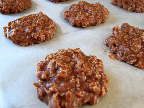 No-Bake Chocolate-Peanut Butter Cookies